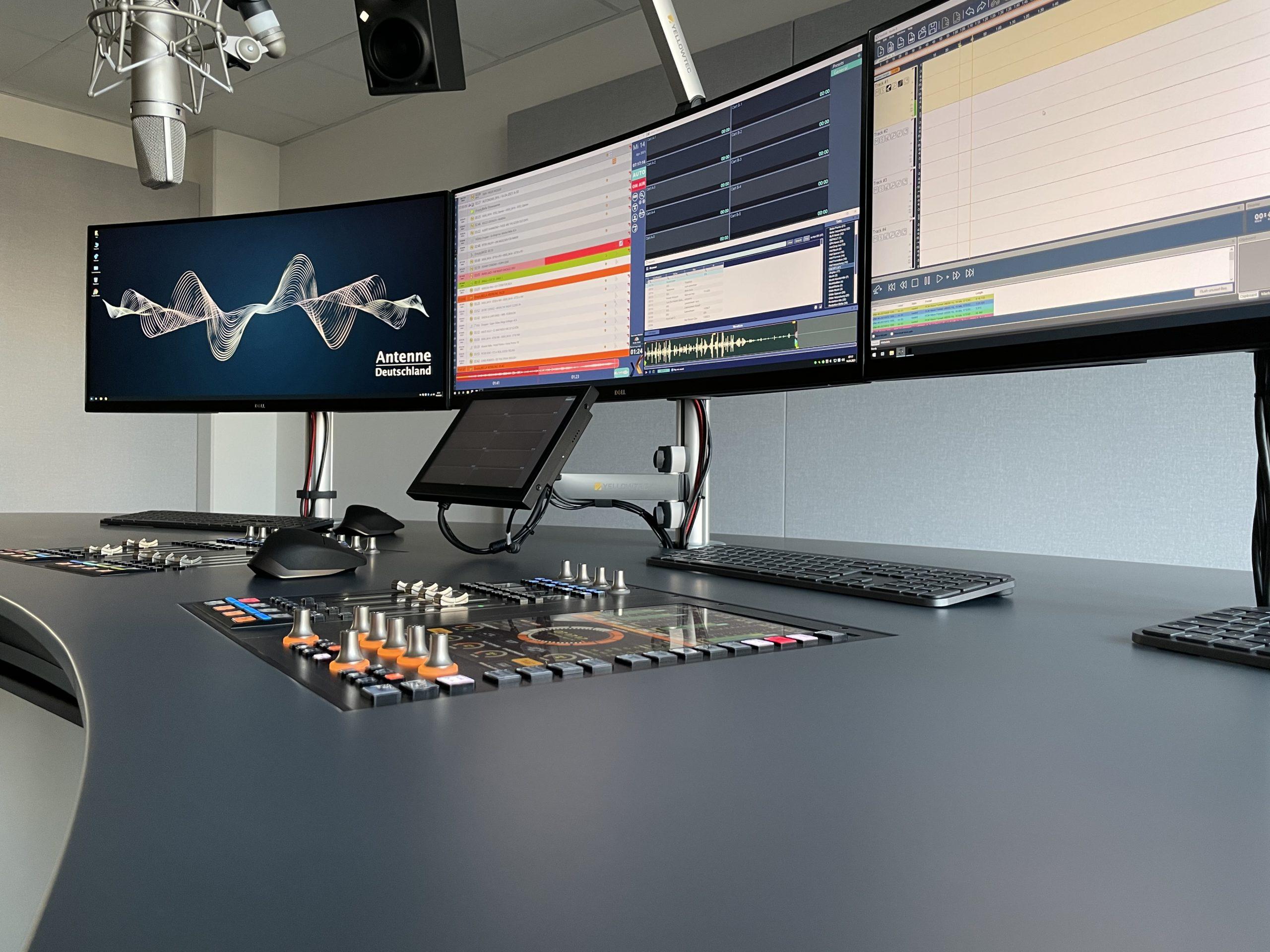 360 Grad Audio: Antenne Deutschland nimmt neue Studios in Betrieb